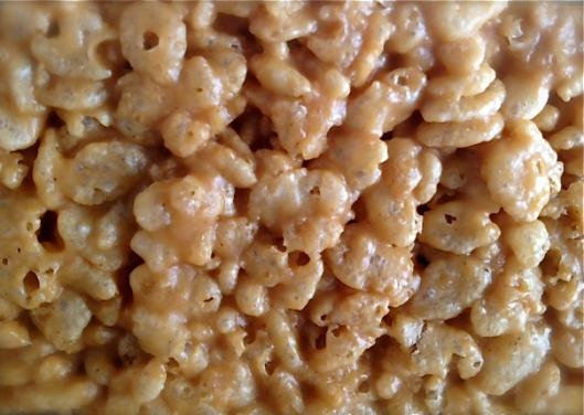 peanut butter rice krispy