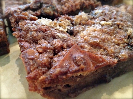choc bread pudding