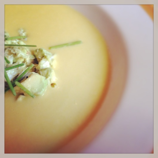 chilled corn soup 1