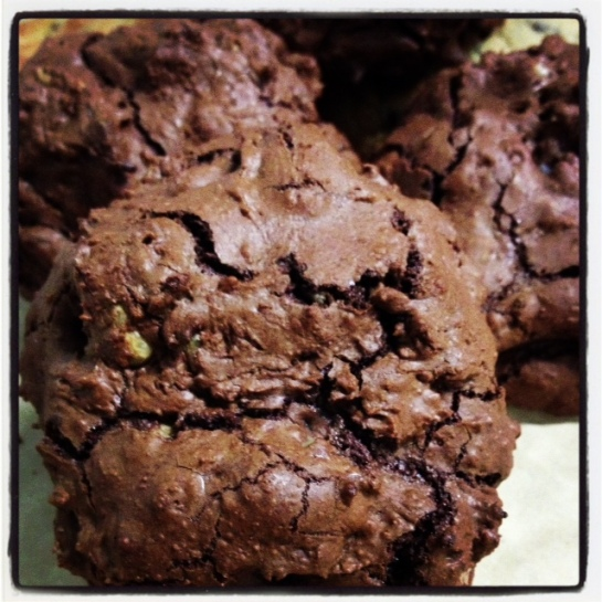 chocolate truffle gluten cookie