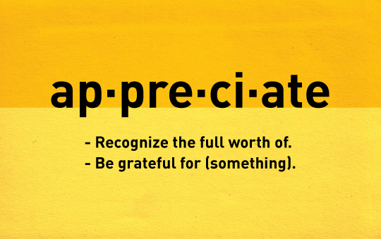 appreciate12