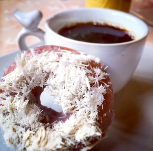 donut coffee