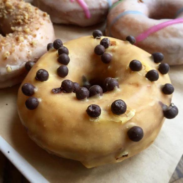 passionfruit donut