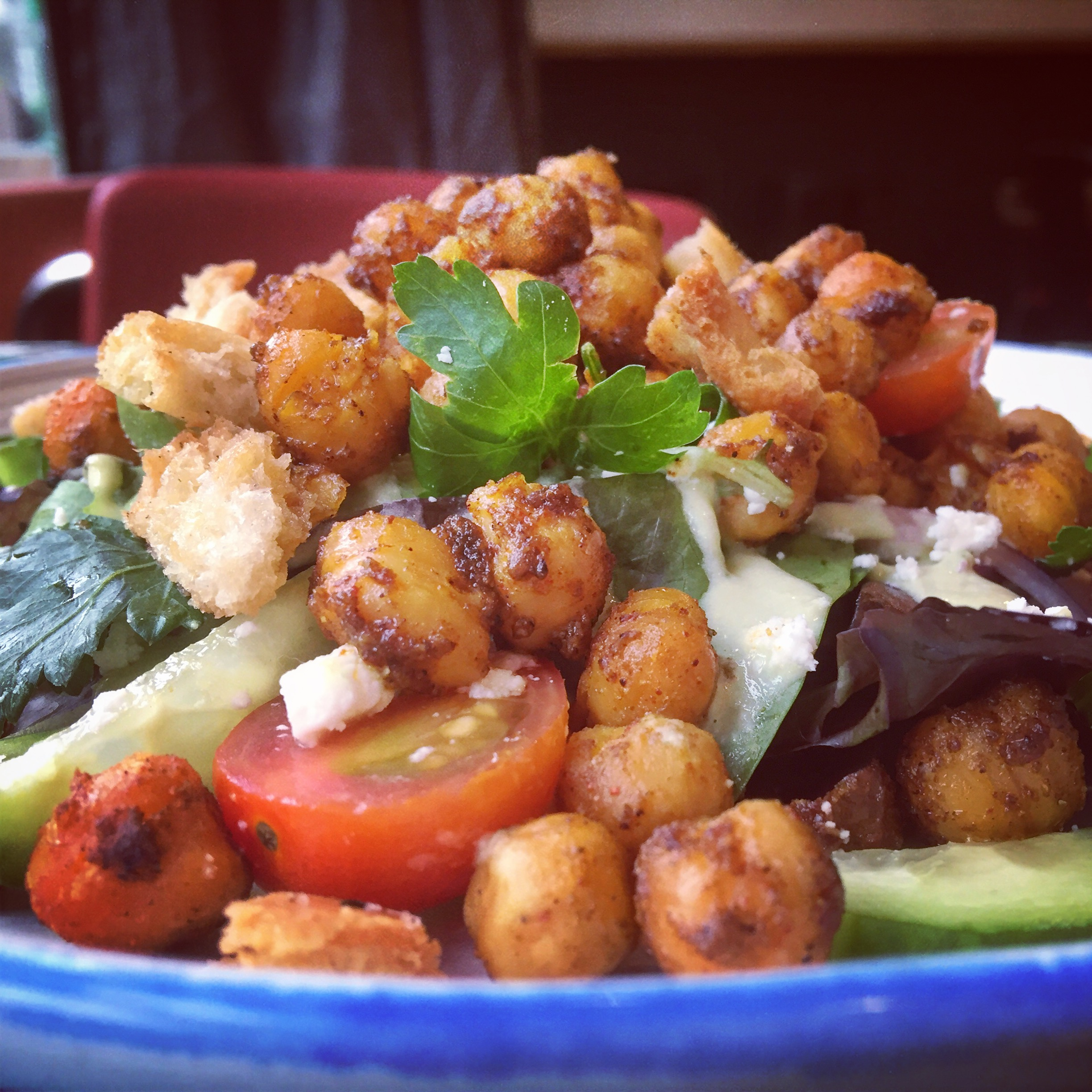 Watch Moroccan Chicken Salad with Chimichurri Dressing video